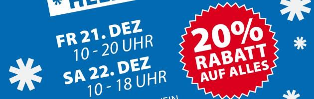 Skiservice Skiverleih Berlin Rabattaktion