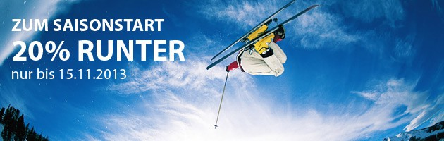 Skiservice Berlin Saisonstart Aktion