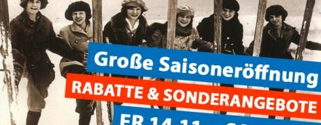 Skiservice Berlin Saisoneröffnung