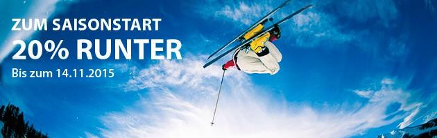 Skiservice Berlin Saisonstart Rabatt