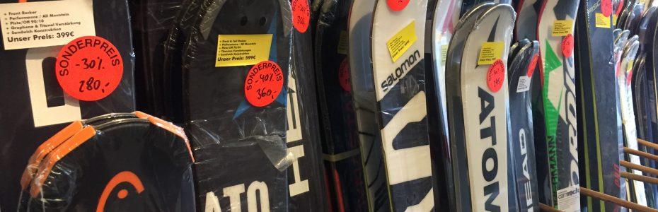 Ski Snowboard Shop Abverkauf Berlin